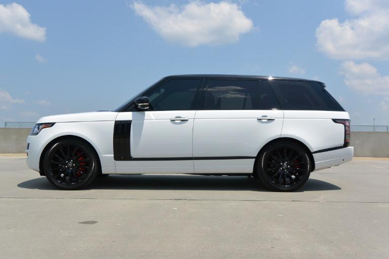 Range Rover Autobiography 2016 >> 2016 Land Rover Range Rover Autobiography Stock Ga248625