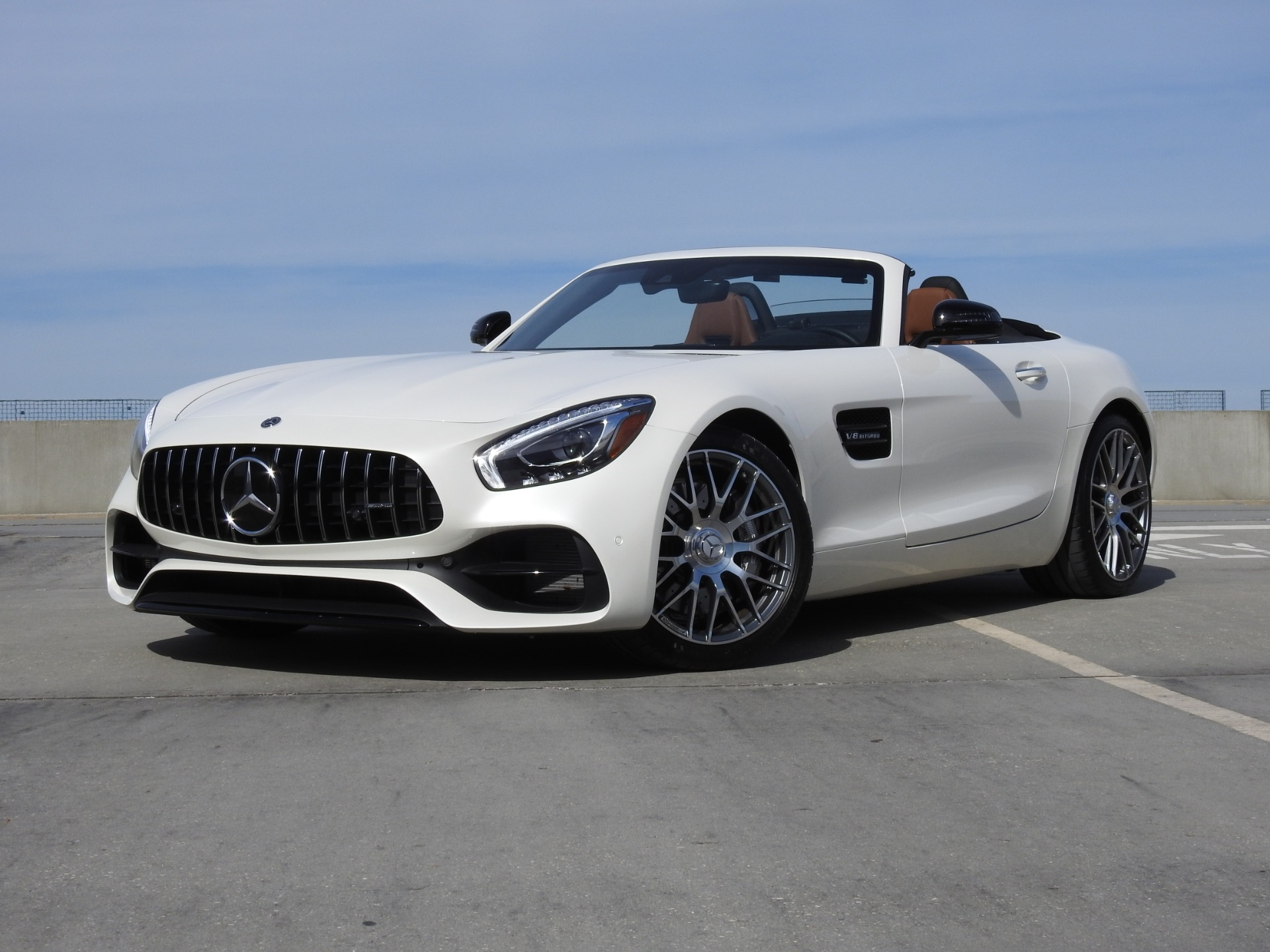 2018 Mercedes-Benz AMG GT Roadster Stock # JA019518 for sale near Jackson, MS | MS Mercedes-Benz ...