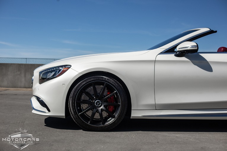 Used-2017-Mercedes-Benz-S-Class-AMG-S-63-Cabriolet-Jackson-MS