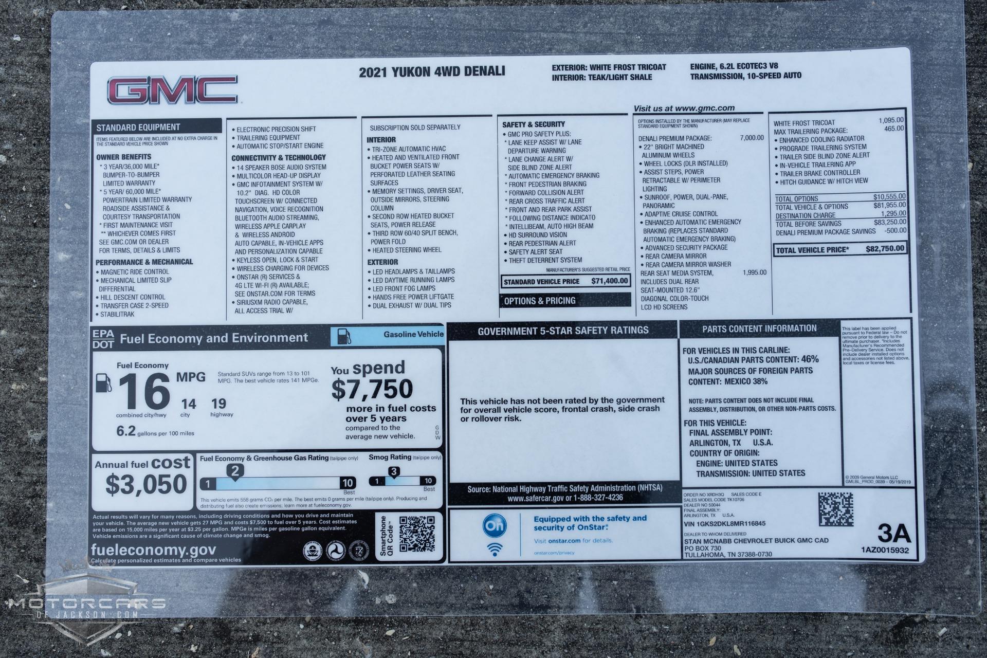 Used-2021-GMC-Yukon-Denali-Jackson-MS