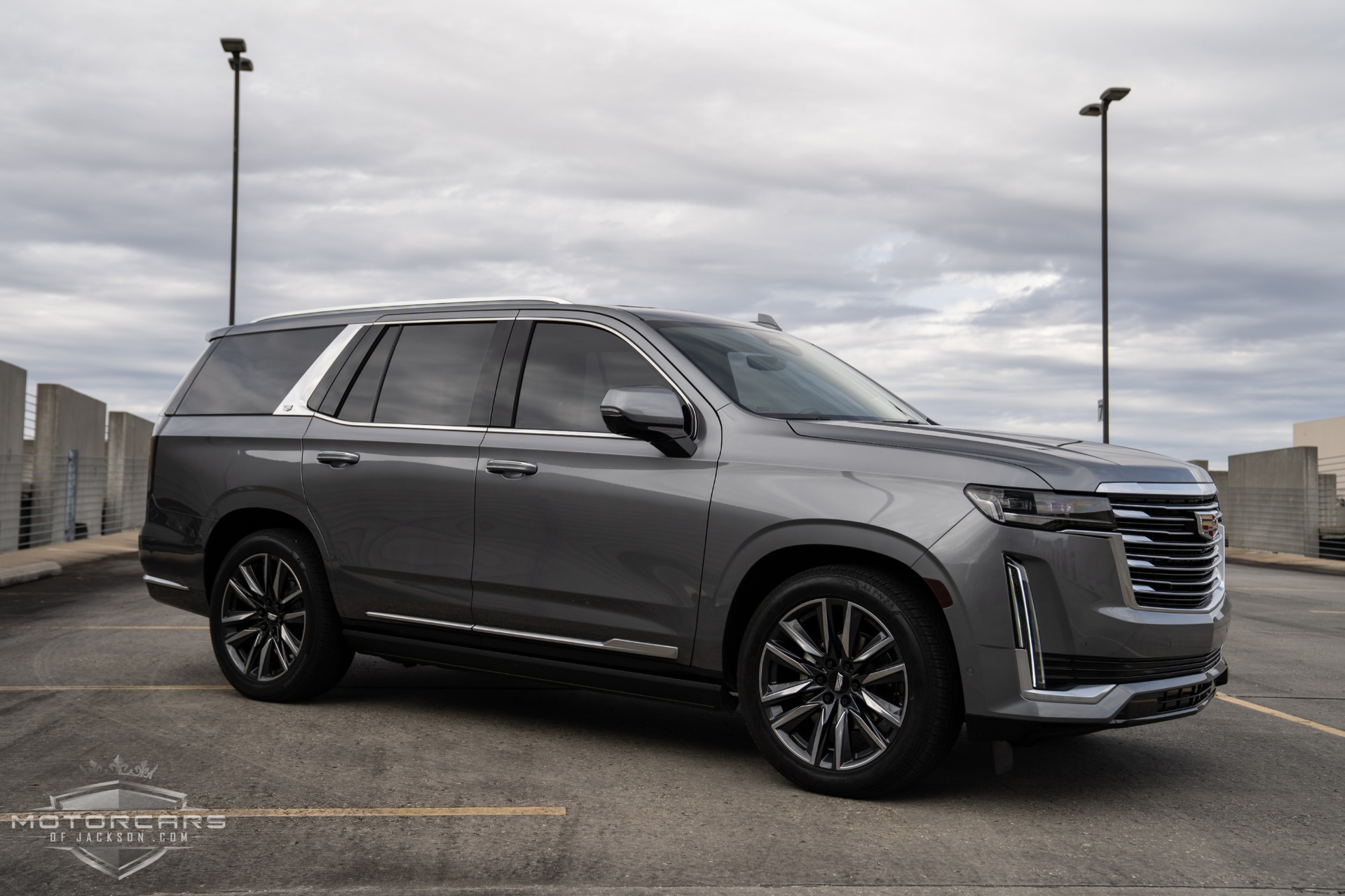 2021 cadillac escalade premium luxury platinum stock