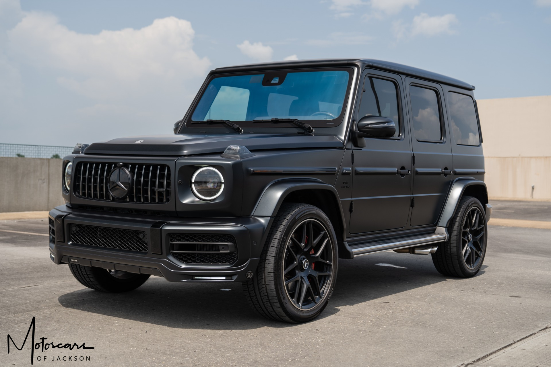 Used-2021-Mercedes-Benz-G-Class-AMG-G-63-Factory-Matte-!!-Jackson-MS