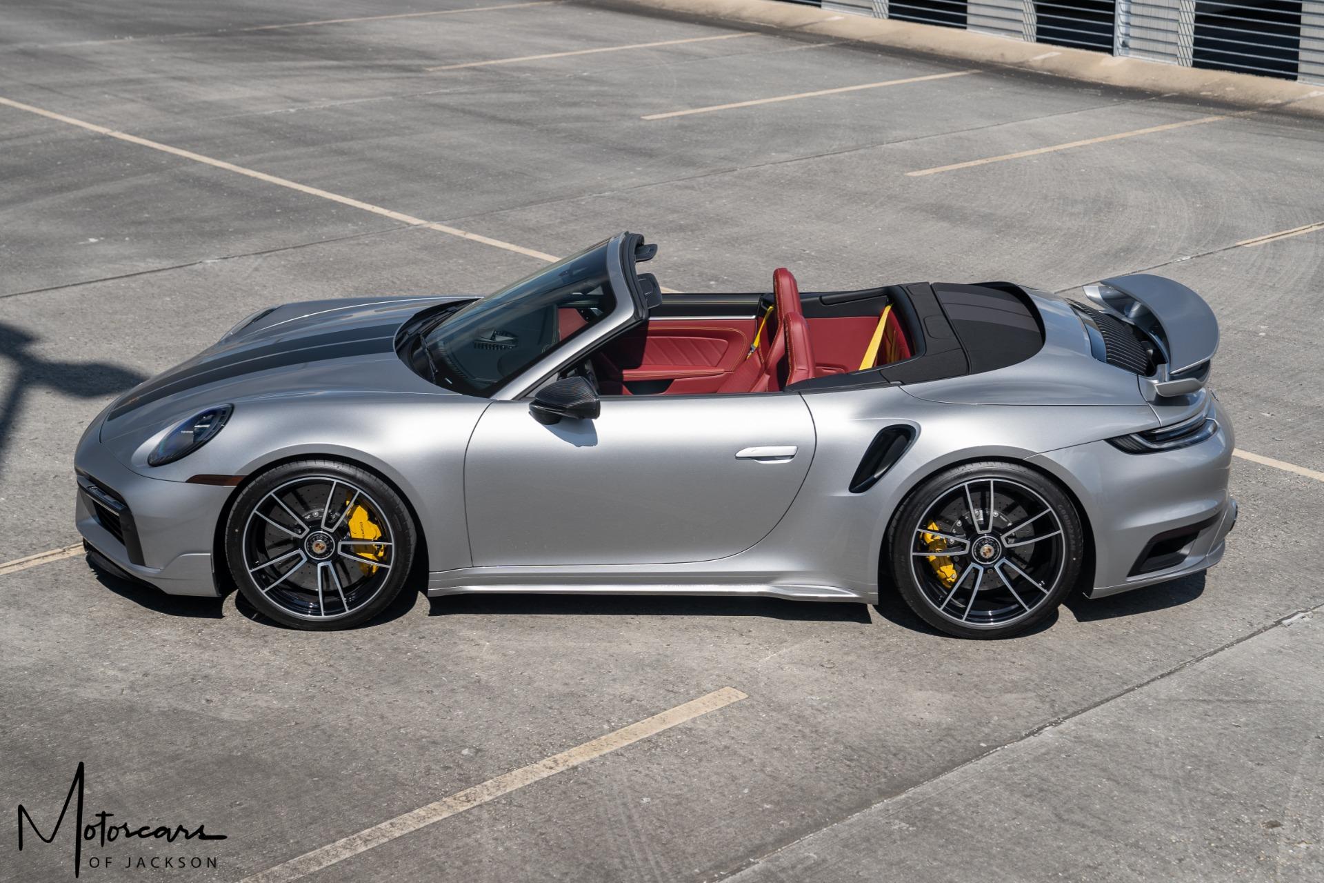 Used-2021-Porsche-911-Turbo-S-Cabriolet-Jackson-MS