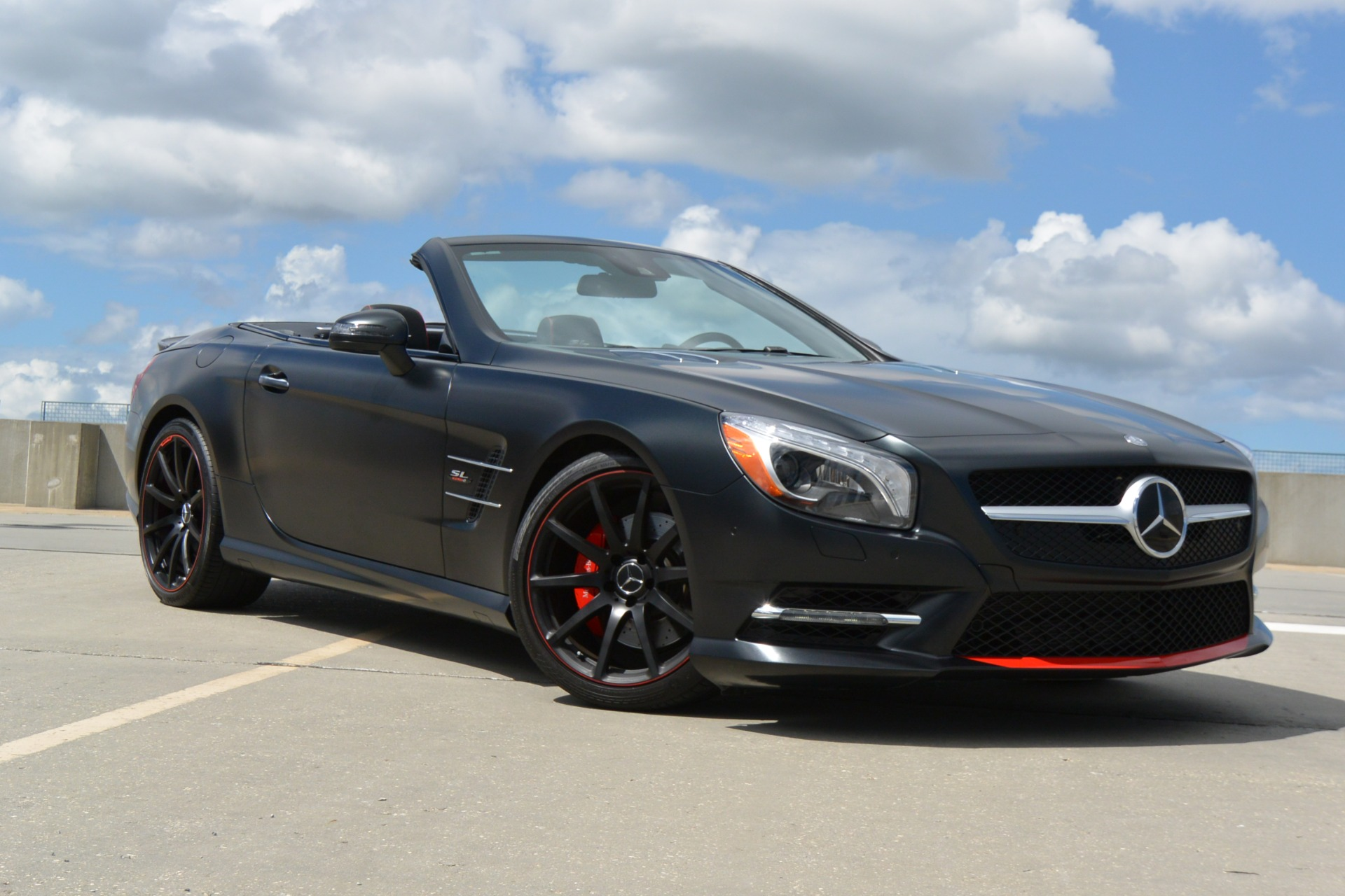 2016 mercedes benz sl sl 550 mille miglia stock f039463 for Used mercedes benz jackson ms