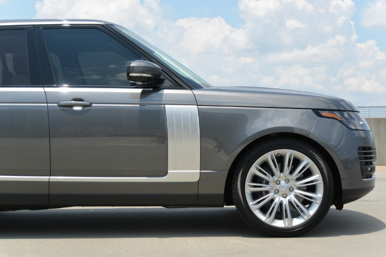 2018 Land Rover Range Rover V8 Supercharged Stock # JA390249
